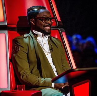 Will.i.am joked he'd like to push a button to catapult rejected contestants