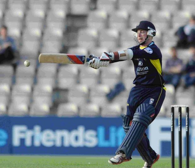 Hampshire Chronicle: Adam Wheater is part of Hampshire's strong t20 squad