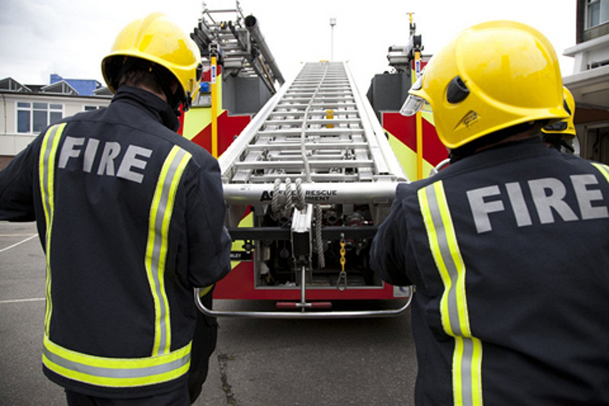 Winchester firefighters called to cooking fire