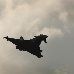 Six RAF Typhoon jets are being sent to Akrotiri in Cyprus as a 'prudent and precautionary measure', the MoD said