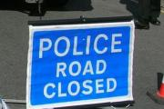 Serious crash shuts main road north of Winchester