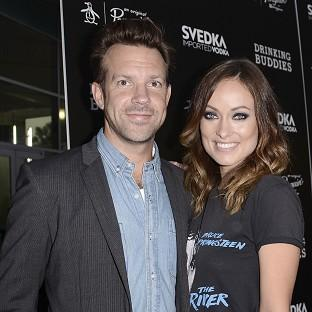 Jason Sudeikis and Olivia Wilde are enjoying being engaged