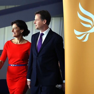 Clegg: We'll keep UK on right track