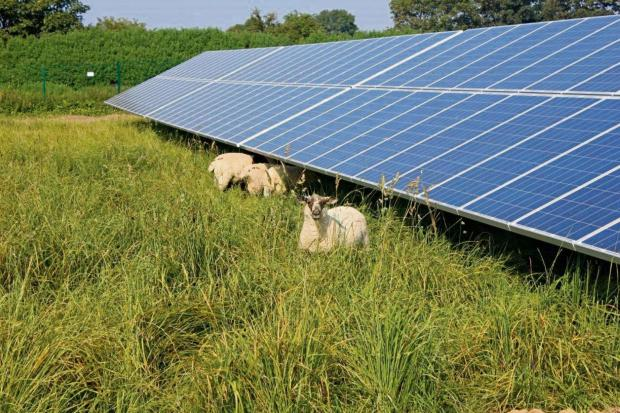 Villagers welcome solar farm plans near Winchester