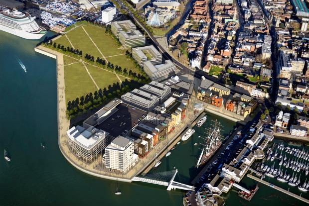 Hampshire Chronicle: Are new plans for city waterfront a missed opportunity?