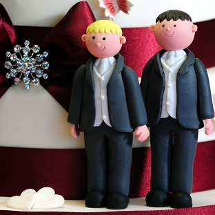 Gay couples will be able to get married next year in England and Wales