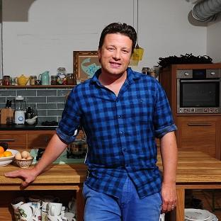 Jamie Oliver has been honoured fo