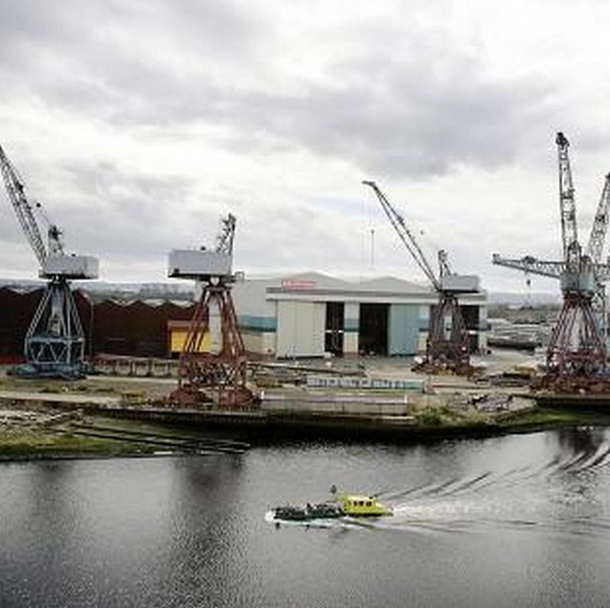 City needs help after end of shipbuilding