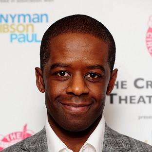 Adrian Lester was honoured for his performance as Othello