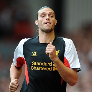 Andy Carroll failed to make an impact at Liverpool