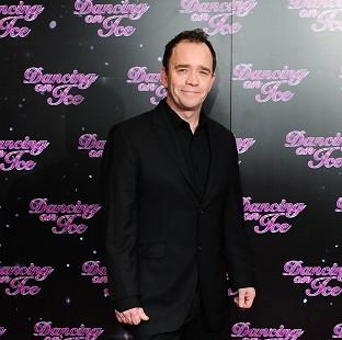 Todd Carty is putting his skates back on for Dancing On Ice