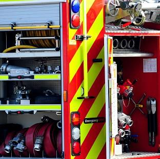 Hampshire Chronicle: Firefighters and police found the body of an elderly woman at a building which had partially collapsed after a fire