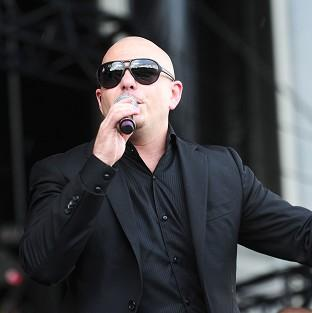Pitbull has secured the first number 1 of 2014