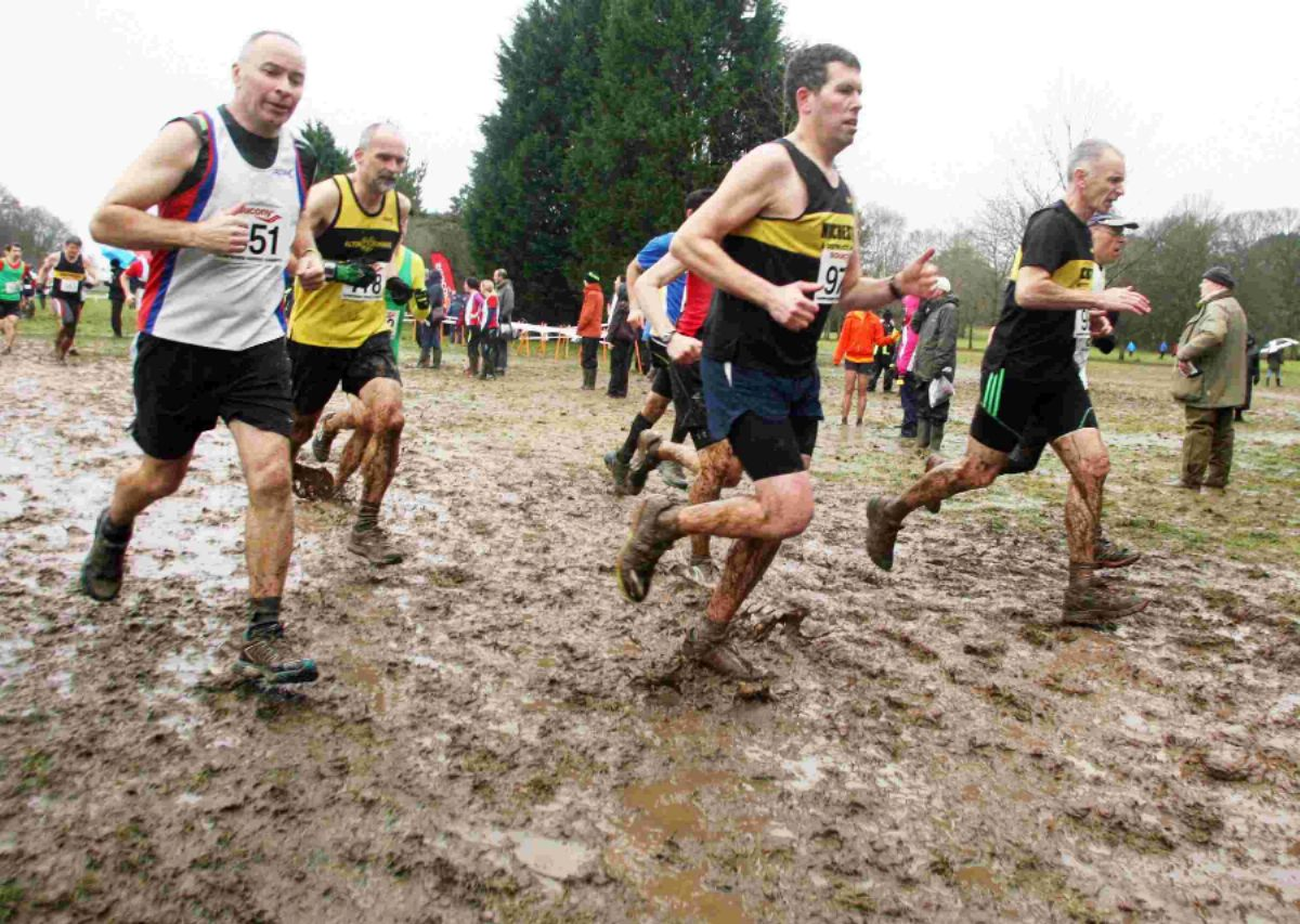Action from the Hampshire Cross Country Champtionships at Eastleigh'