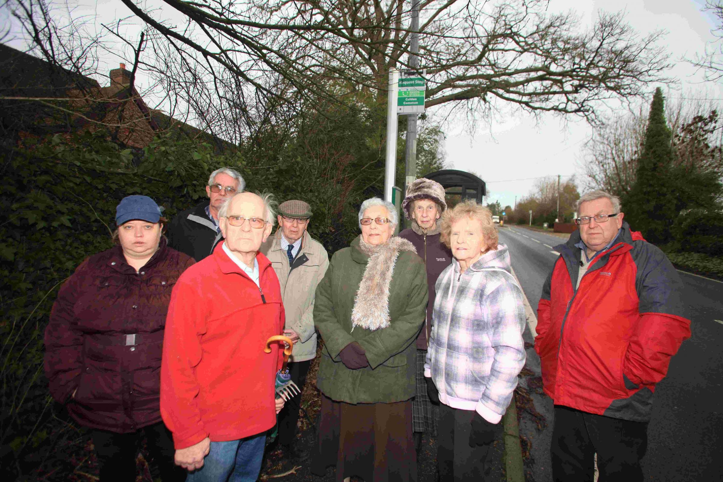 Roadworks leave Colden Common villagers stranded