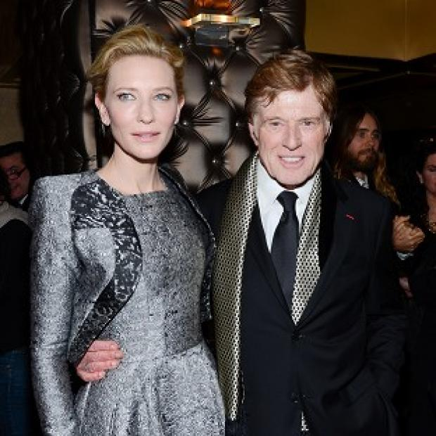 Hampshire Chronicle: Cate Blanchett and Robert Redford were the darlings of the New York Film Critics Circle Awards