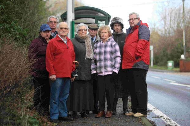 Parishioners in Colden Common and Twyford campaigned relentlessly demanding a much needed bus service after ongoing mains water works closed roads at Fisher's Pond