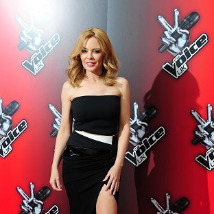 Kylie Minogue lost her confidence when it came to spinning around