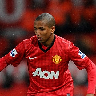 Manchester United star Ashley Young who was accused of spee