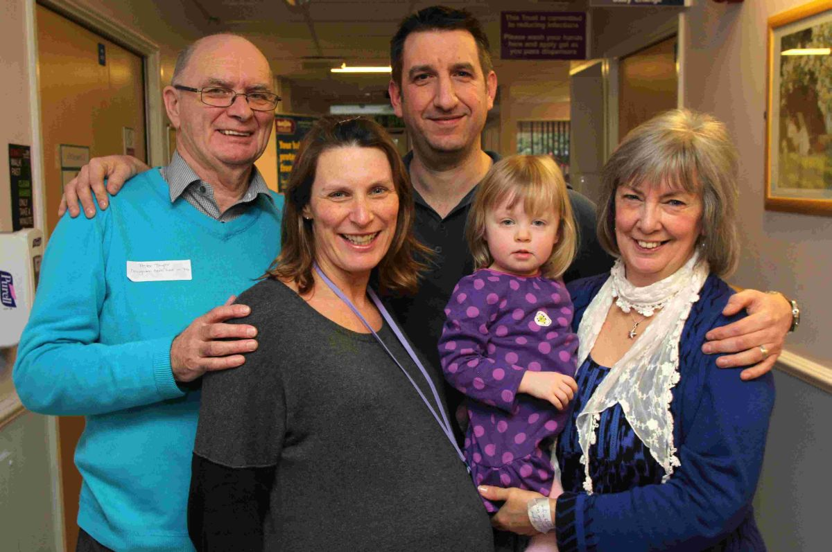 Woman born in Winchester maternity ward goes into labour during anniversary celebrations