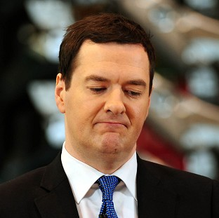 Chancellor George Osborne was criticised by a Conservative MP over his economic policies