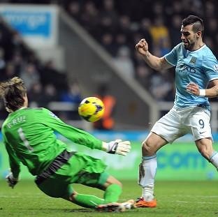 Hampshire Chronicle: Alvaro Negredo nets City's second goal
