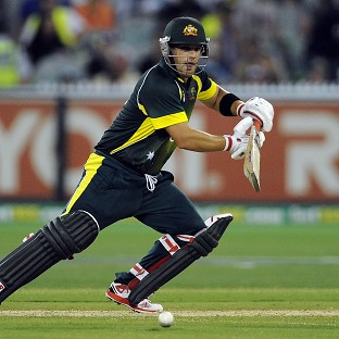 Aaron Finch's century helped Australia to victory (AP)