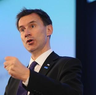 Jeremy Hunt said he hopes new guidelines will help end the