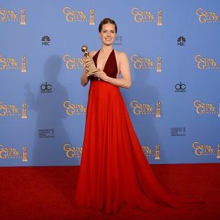 Hampshire Chronicle: Amy Adams with the award for best actress in a motion picture - comedy or musical