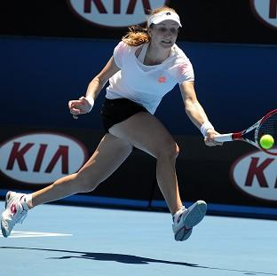 Hampshire Chronicle: Ekaterina Makarova, pictured, got the better of Venus Williams in Melbourne, winning 2-6 6-4 6-4 (AP)