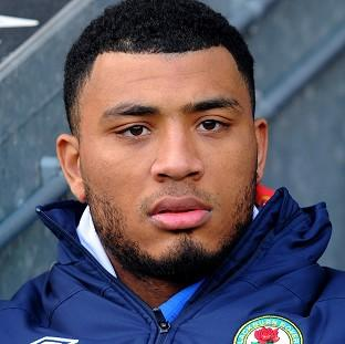 Hampshire Chronicle: Blackburn Rovers footballer Colin Kazim-Richards is accused of making a homophobic gesture during a match