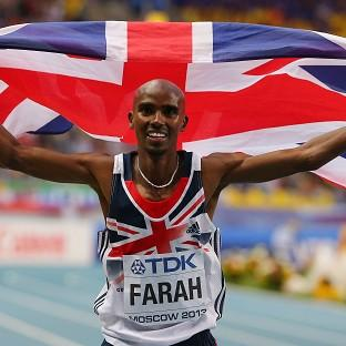 Mo Farah will have tough competition in the London Marathon