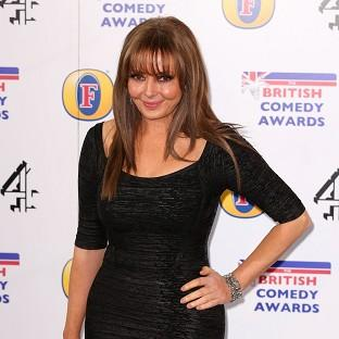 Carol Vorderman says she's off booze for the year