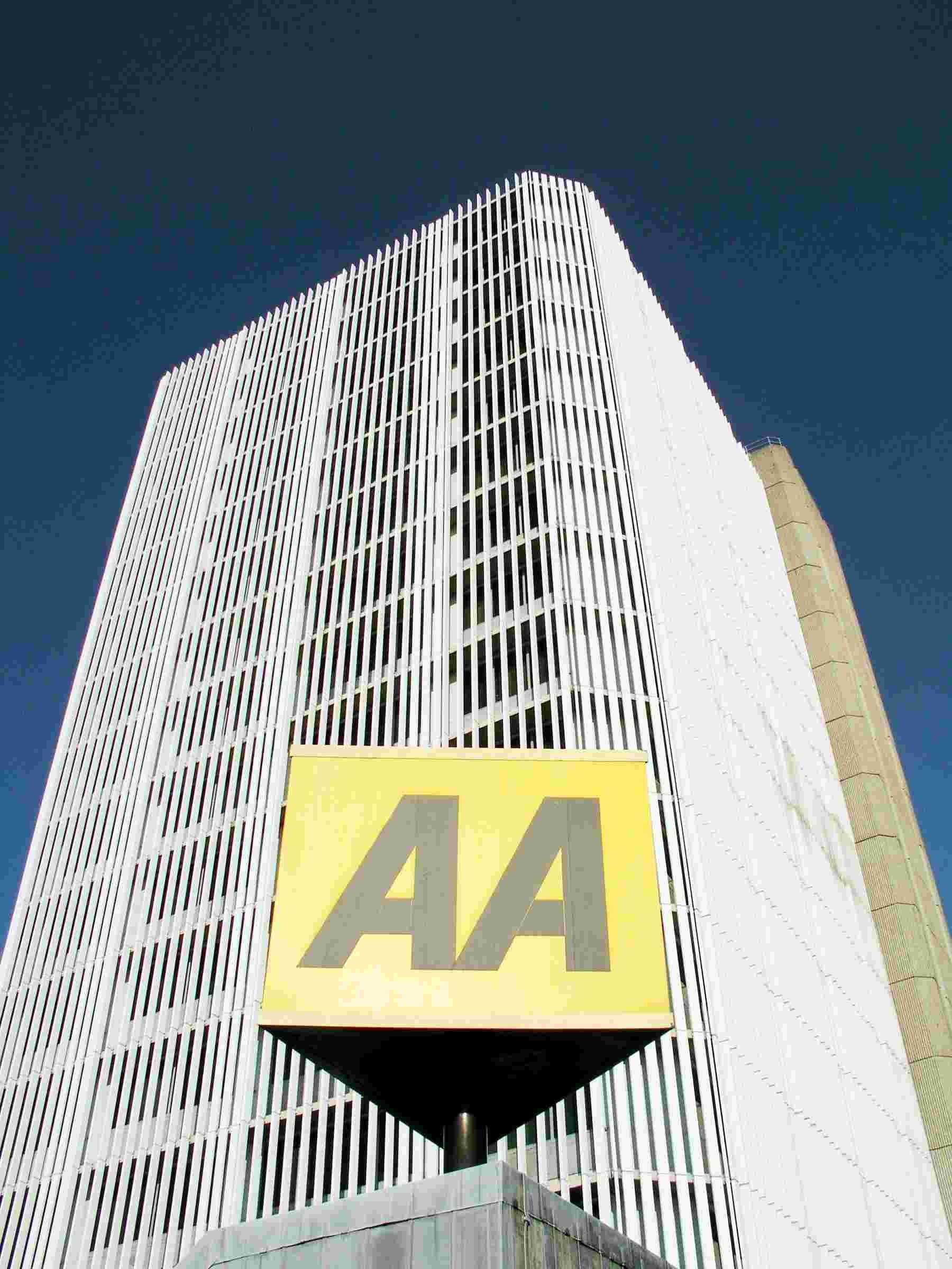 Fanum House, the Basingstoke headquarters of the AA