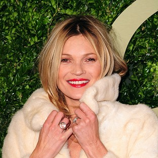 Kate Moss celebrated her 40th in London
