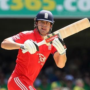 Alastair Cook, pictured, described James Faulkner's 69no as 'astonishing' (AP)