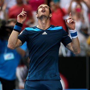 Andy Murray beat Feliciano Lopez in straight sets (AP)