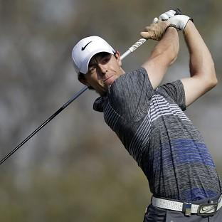 Rory McIlroy was annoyed at being given a two-shot penalty on Saturday (AP)