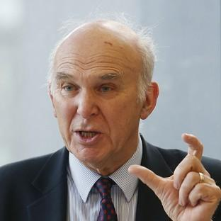Business Secretary Vince Cable has told foreign firms the risk of Britain leaving the EU is 'very, very low'