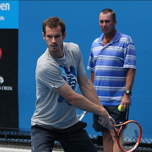 Andy Murray, pictured, meets Stephane Robert in the fourth round of the Australian Open (AP)