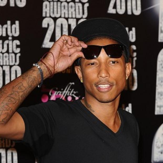 Hampshire Chronicle: Pharrell Williams has remained in pole position with his feel-good hit Happy