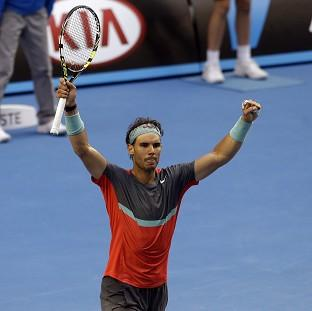 Rafael Nadal, pictured, was given a tou