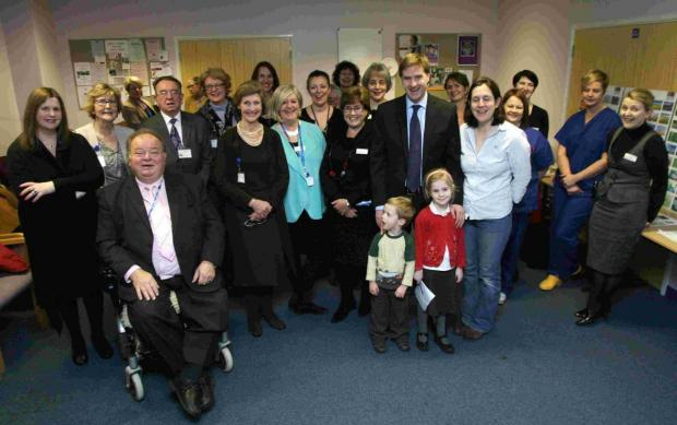 The meeting saw around 20 new mums attend, babies in arms, to contribute ideas for the rooms alongside the hospital team.