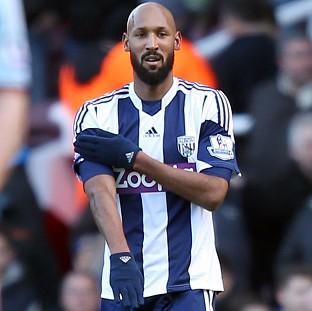 West Bromwich Albion's Nicholas Anelka has been charged by the FA