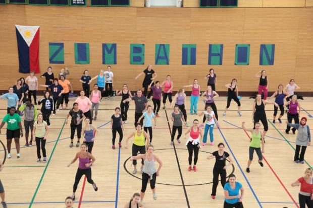 Special zumba dance lessons to raise money for Comic Relief