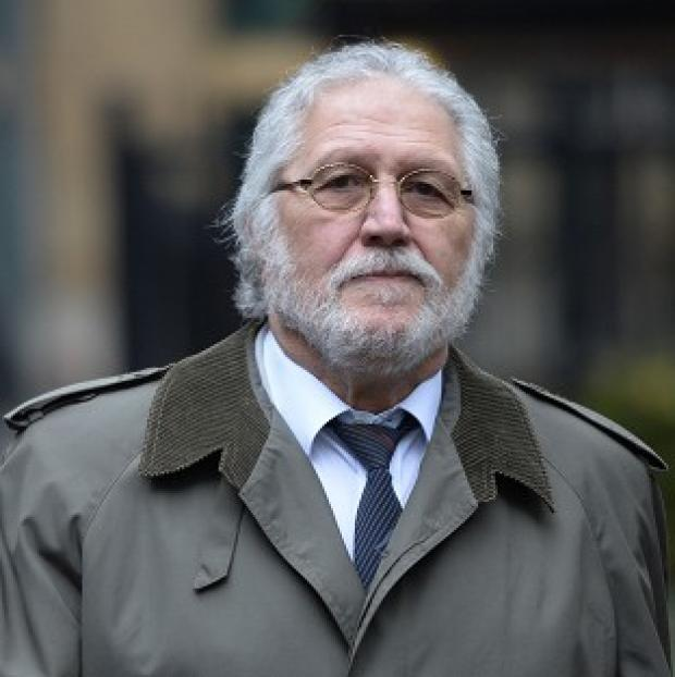 Hampshire Chronicle: Former DJ Dave Lee Travis arrives at Southwark Crown Court in London, where he is accused of a series of indecent assaults and one sexual assault