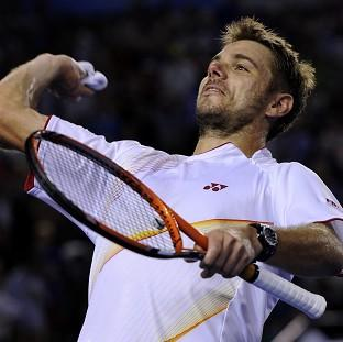 Stanislas Wawrinka will play in his first grand slam final at the Australian Open on Sunday (AP)
