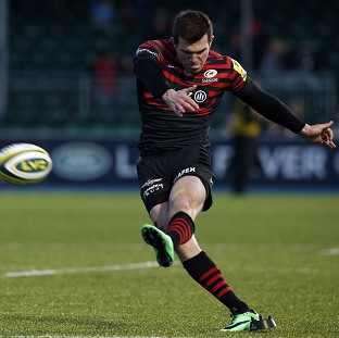 Ben Spencer kicked 21 points in Saracens' victory over Newcastle