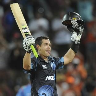 Ross Taylor finished 112 not out for the Black Caps (AP)