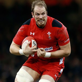 Alun-Wyn Jones, pictured, will captain Wales, with Sam Warburton on the bench